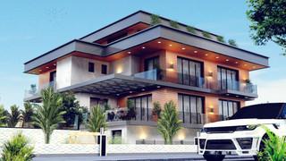Yalova Villa Projesi Dış Görünüş (7).jpe