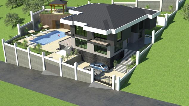 Yalova Villa Projesi Genel Görünüş (6).j