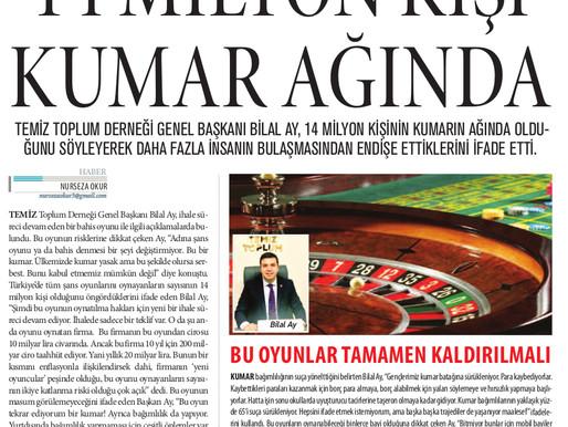 14 Milyon kişi kumar ağında