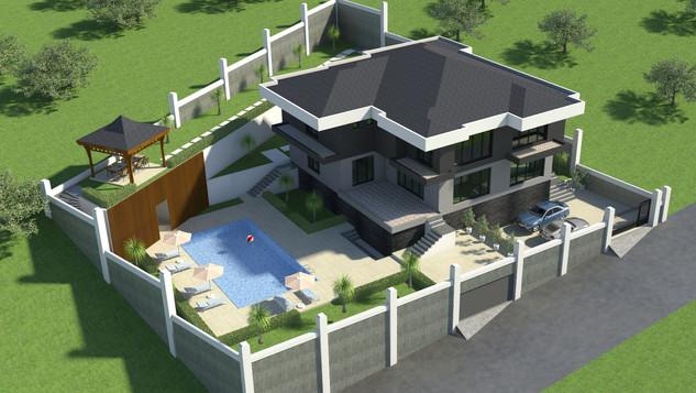 Yalova Villa Projesi Genel Görünüş (4).j