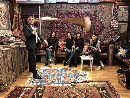 Hakan Evin's Flying Carpet