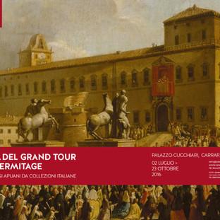 Città del Grand Tour dall'Ermitage e paesaggi apuani da collezioni italiane
