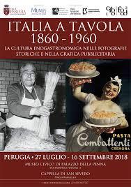 Italia a tavola. 1860 - 1960