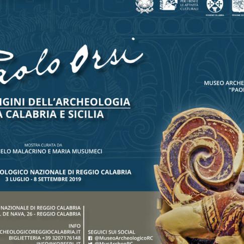 Paolo Orsi. Alle origini dell'Archeologia tra Calabria e Sicilia