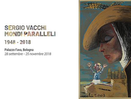 """Dal 28 settembre al 25 novembre Bologna celebra Sergio Vacchi in """"Sergio Vacchi. Mondi Paralleli"""""""