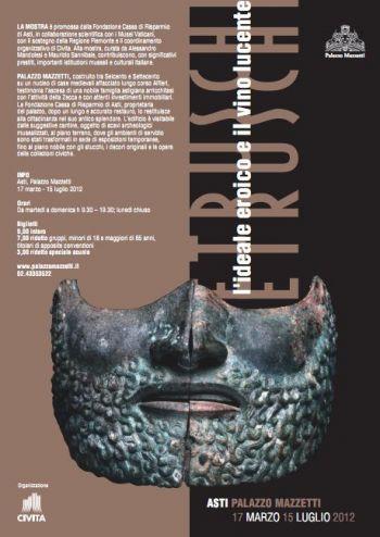 Etruschi: l'ideale eroico e il vino lucente