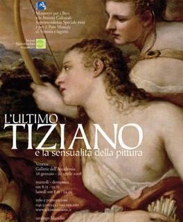 L'ultimo Tiziano e la sensualità della pittura
