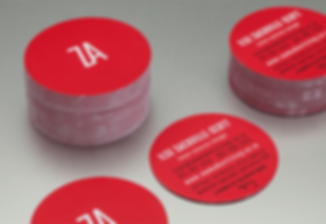 Round/Circle Business Cards