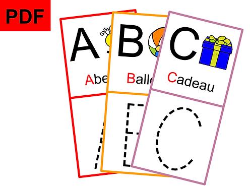 Graphisme lettres majuscules