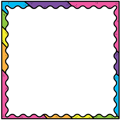 Filled Square Rainbow Wavy Frame 03.png