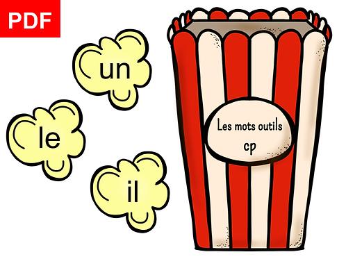 Mots outils pop-corn