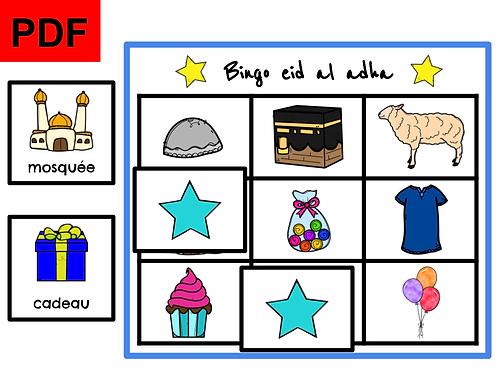 Bingo eid-al-adha
