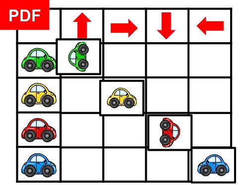 Tableau double entrée voitures