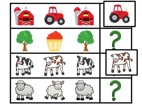 Suite logique (la ferme)