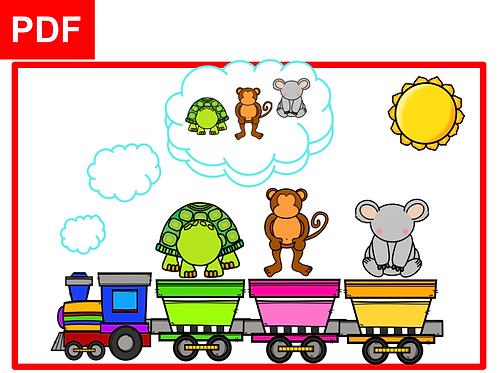 Le train des animaux