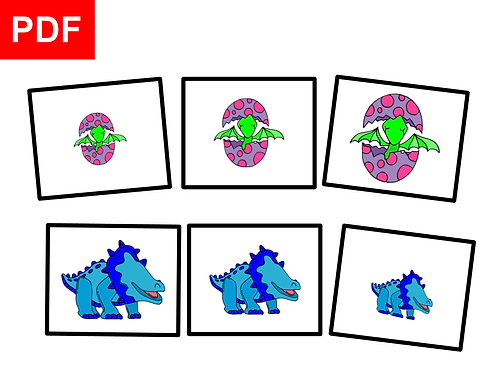 Dinosaures:petit-moyen-grand