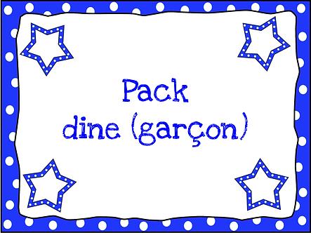 Pack dine (garçon)