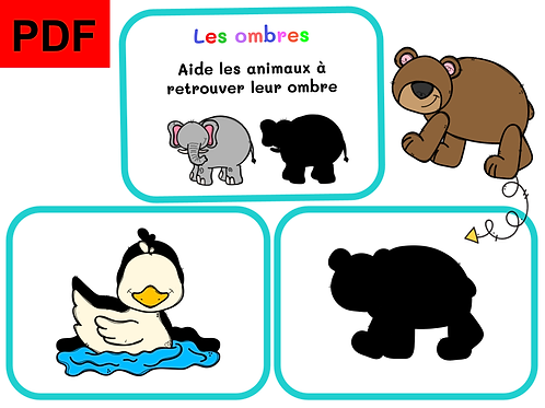 Les ombres (animaux)