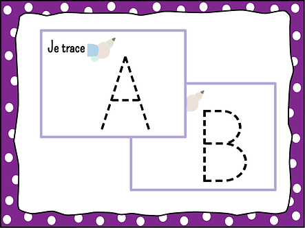 Graphisme des lettres majuscules