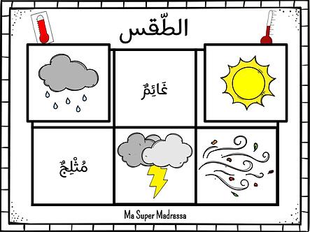 Jeu de la météo (arabe)