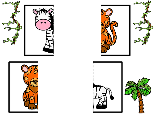 Puzzles animaux sauvages