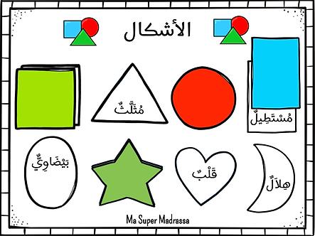 Jeu des formes en arabe