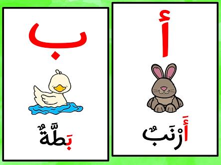 Affiches alphabet arabe