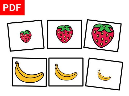Fruits:petit-moyen-grand