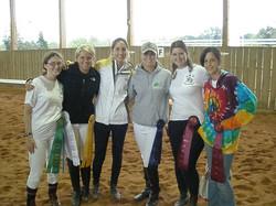 Lenoir Rhyne Dressage team