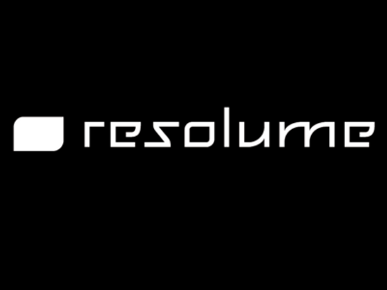Resolume-Logo-b-ProjectileObjects-400x30