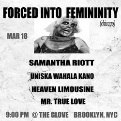 FORCED INTO FEMININITY
