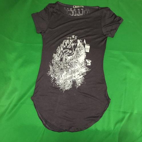 185668232 Hip Glitch Print T-Shirt Shirt