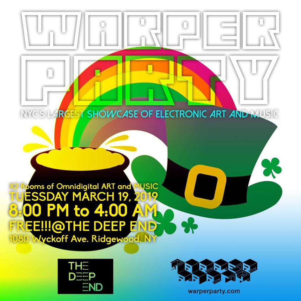 Warper Party - Tuesday, March 19, 2019 (
