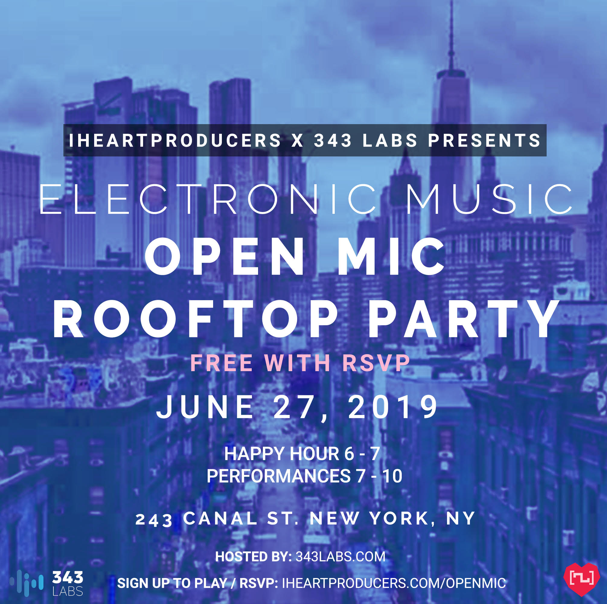 OpenMicRooftopParty - June 27, 2019
