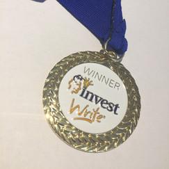 InvestWrite Medal