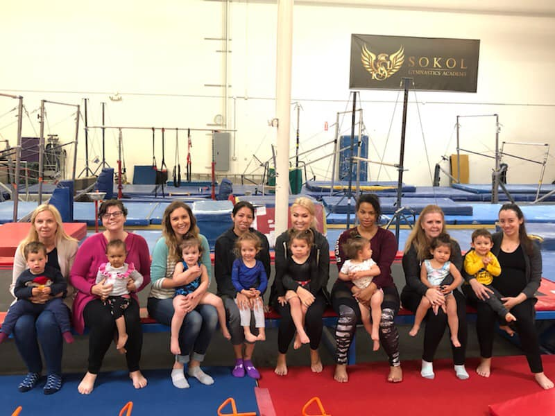 toddler class group pic