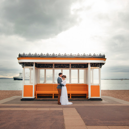 QUIRKY DIY WEDDING AT PORTSMOUTH's HISTORIC SQUARE TOWER