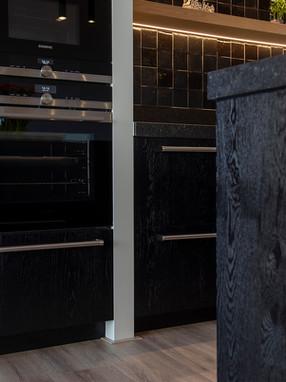 Keuken zwart tijdloos