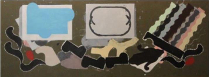 Pintura Paulo Whitaker 100x290cm - VENDIDO