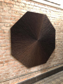 Escultura Marco Coelho Benjamim 160x160x5cm