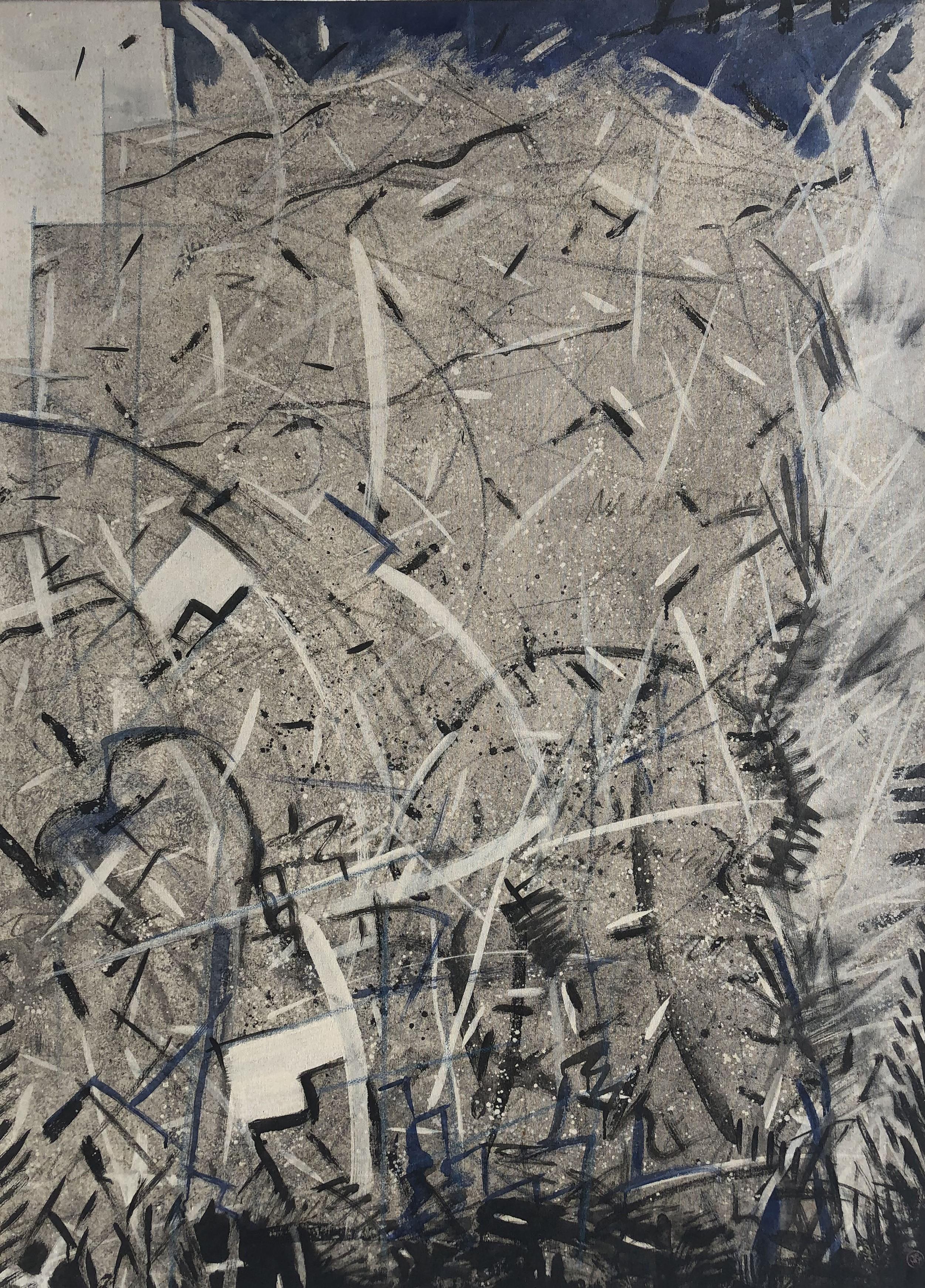 Pintura de Takashi Fukushima 104x146cm
