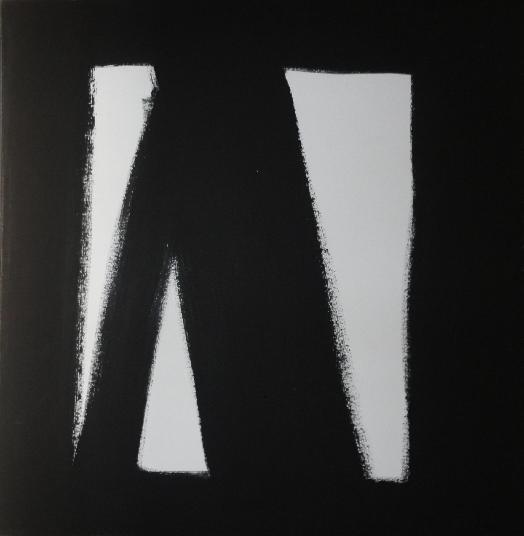 Pintura Amilcar de Castro 100x100cm