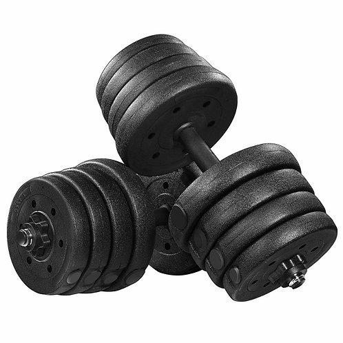 BeSportible - Håndvægtsæt (2 x 15 kg)
