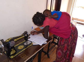 Women's Empowerment Program teaching skills for livelihood
