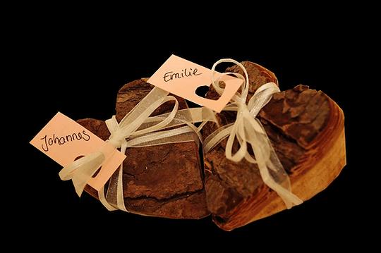Holzdekoration, Hochzeitsdekoration, Holzherzen, Namenschilder fürHochzeit