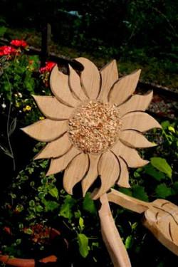 Gänseblümchen aus Holz