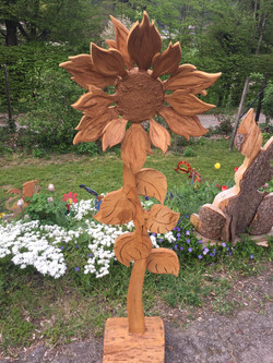 3D Holzblume