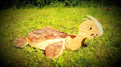 Schildkröte aus Holz
