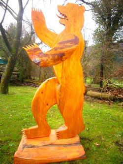 Berliner Bär aus Holz