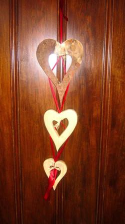Herzkette für die Türe